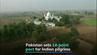Pakistan sets conditions for Kartarpur pilgrimage