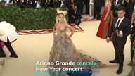 Ariana Grande cancels New Year concert