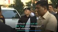 Ghazipur violence: Akhilesh slams CM Yogi's 'thoko neeti'