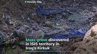 Remains of children found in Iraq mass grave