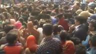 लखनऊ: बच्ची का शव मिलने पर फूटा भीड़ का गुस्सा