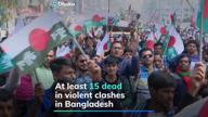 Bangladesh polls close: 15 dead in clashes