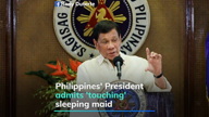 Philippines' President under fire for 'repulsive' confession