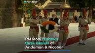Tribute to Netaji, PM renames 3 Andaman islands