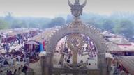 A splash of culture at the Surajkund Crafts Mela!