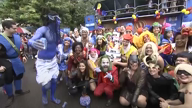 Thousands show up to Rio's street party ahead of the carnival