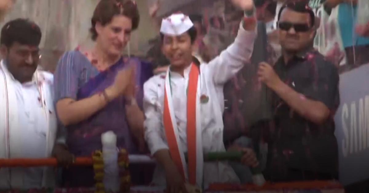 Priyanka decided to not contest from Varanasi: Pitroda