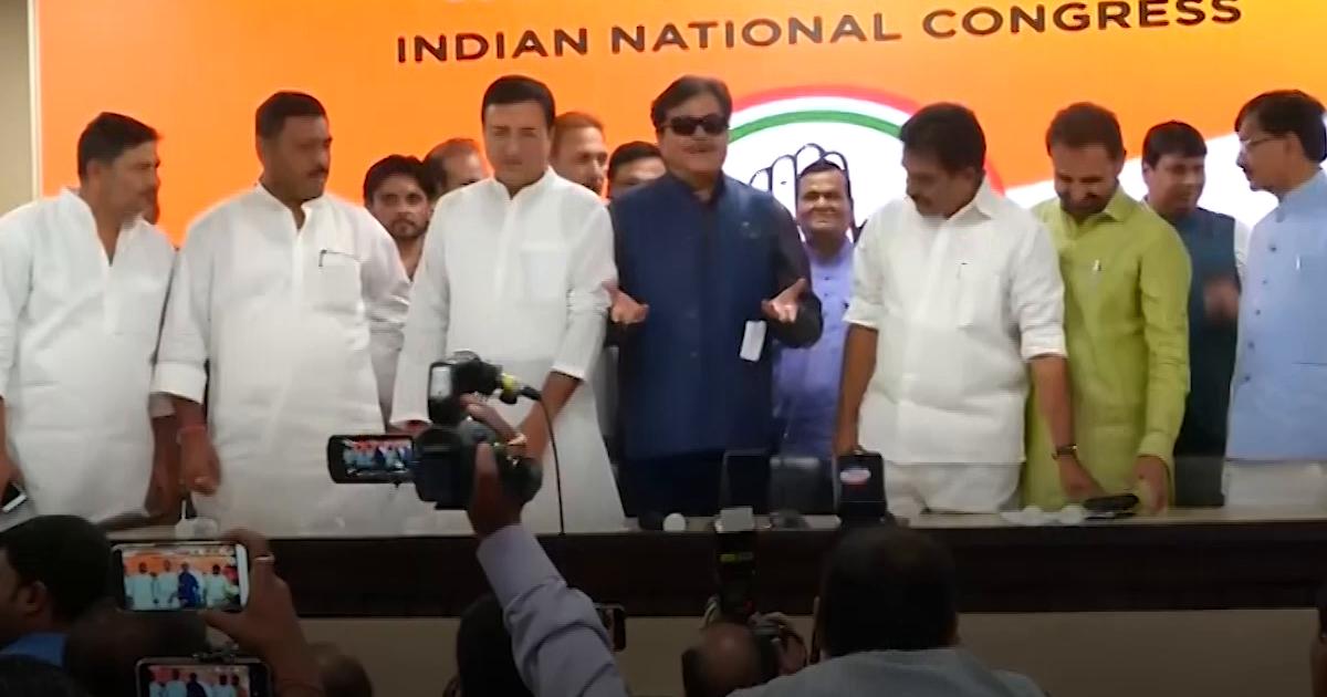 शत्रुघ्न सिन्हा का 'सेल्फ गोल', कांग्रेस को बताया जिन्ना की पार्टी