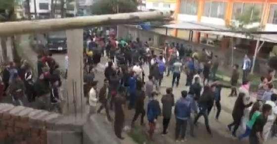 अरुणाचल: PRC के विरोध में बड़ा बवाल, डिप्टी सीएम का बंगला फूंका