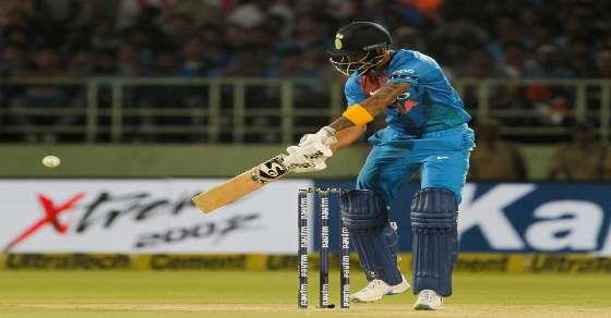 1st T20: India in trouble, lose 7 wickets
