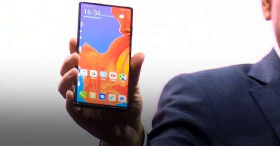 Huawei launches foldable phone, Mate X