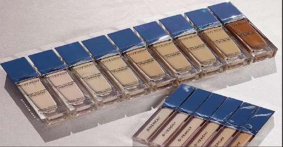 Givenchy's new foundation range slammed for lack of diversity!