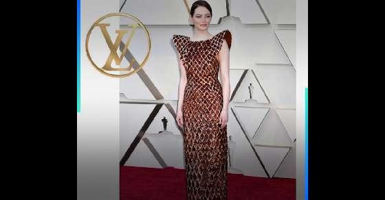 Louis Vuitton spent 700 hours to make Emma Stone's Oscars dress