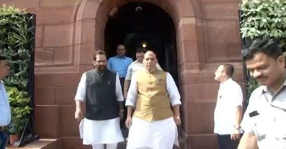 Rajnath Singh chairs crucial security meet