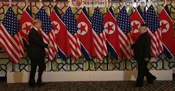 Trump meets Kim, hails North Korea's 'tremendous potential'