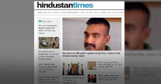 Reports: No deal, India wants IAF pilot returned immediately