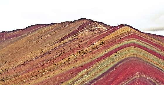 Photoshop or real? The Rainbow Mountain of Peru