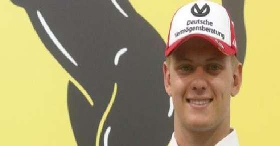 Schumacher junior will be driving a Ferrari soon