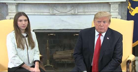 Trump meets Venezuelan leader Juan Guaido's wife
