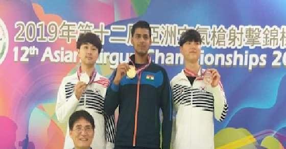 India bags 2 Gold medals at Asian AirGun Championship