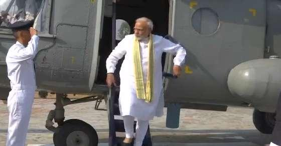 'Fighting in dark': IAS officer who checked PM's chopper