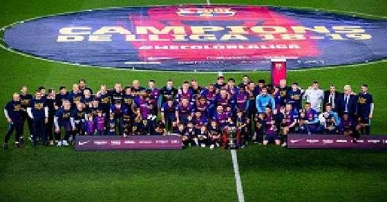 La Liga: Messi's heroics clinches Barca its 26th title
