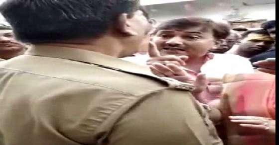 BJP नेता की पुलिस अधिकारी को धमकी- तुम मेरी हिटलिस्ट में