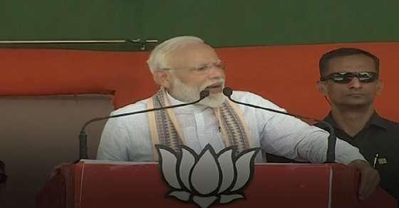PM मोदी का विपक्ष पर हमला: कहा- जो बेल पर हैं उन्हें जेल भेजूंगा