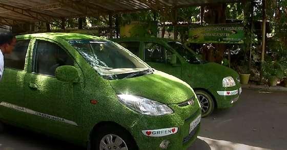 पर्यावरण को बचाने के लिए गुजरात के शख्स का 'गो ग्रीन' कैंपेन