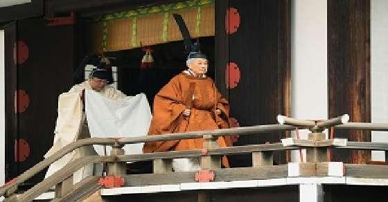 Japan's emperor abdicates throne and hands it over to son