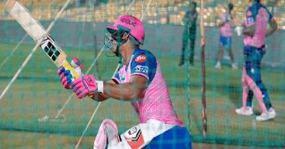 राजस्थान और बैंगलोर के मैच के ओवर घटे