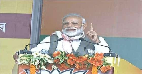 Modi takes note of higher turnout of women voters