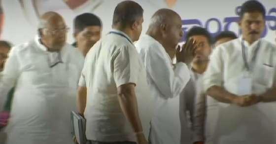 कांग्रेस नेता का दावा- 10 जून के बाद गिरेगी कुमारस्वामी सरकार