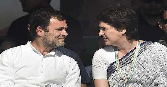 राहुल गांधी से मिलीं प्रियंका, शाम 4:30 बजे बड़े नेताओं की आपात बैठक