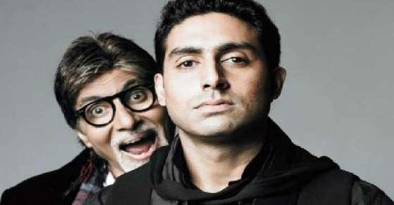 Amitabh Bachchan vs Abhishek Bachchan!