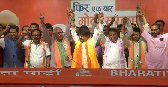 'On gun point': TMC on leaders joining BJP