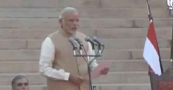 Modi oath: Biggest-ever event at Rashtrapati Bhavan