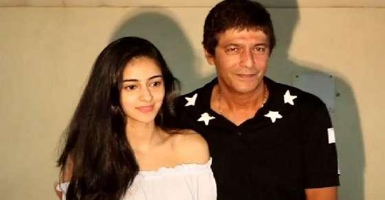 Chunky defends Ananya Panday, says did get into US colleges
