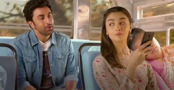Alia & Ranbir in their first brand endorsement together