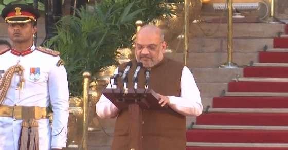 BJP Chief Amit Shah joins Modi government