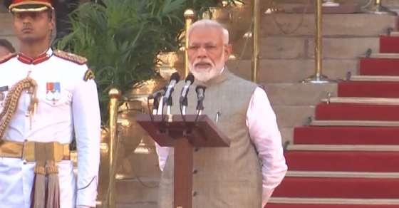 NDA 2.0: Modi takes oath as India's 15th PM