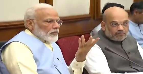 Day after swearing-in, PM chairs 1st cabinet meet
