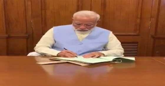 PM's first decision 'dedicated to those who protect India'