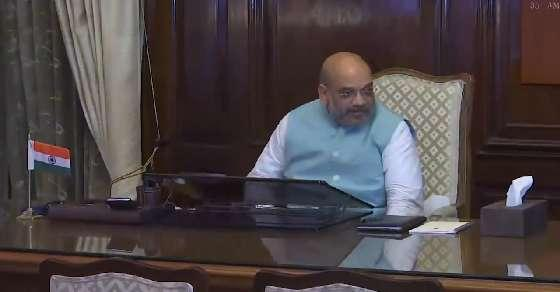 Day 1: Amit Shah takes stock of security, state affairs