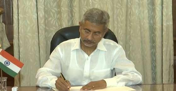 BJP eyes Gujarat RS seat for Jaishankar