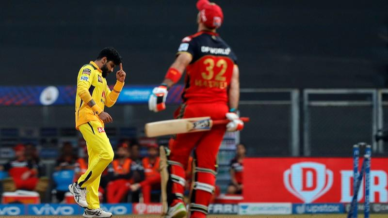 Jadeja single-handedly destroys RCB, CSK win by 69 runs