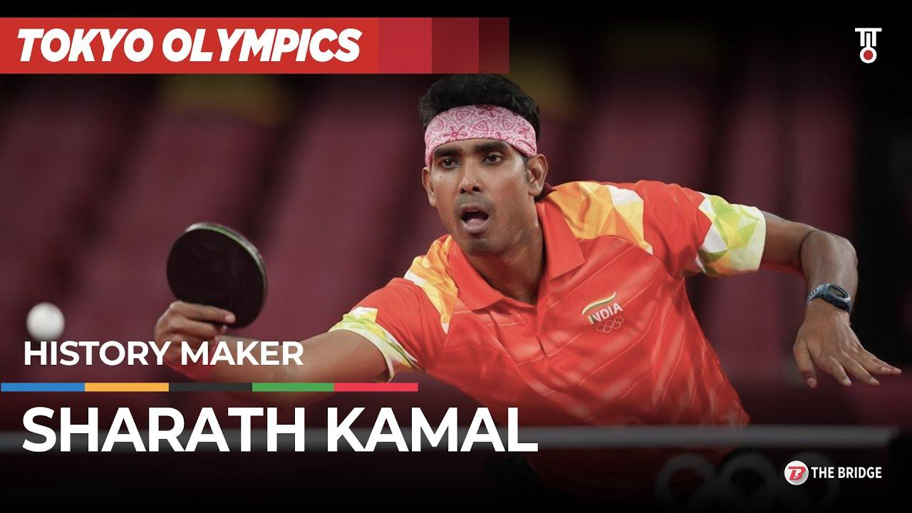 Sharath Kamal keeps India's Olympic medal hopes in Table Tennis alive | The Bridge