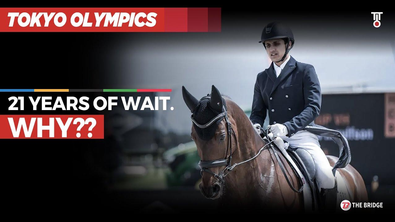 Why India had to wait 21 years for an Equestrian to qualify for Olympics | The Bridge