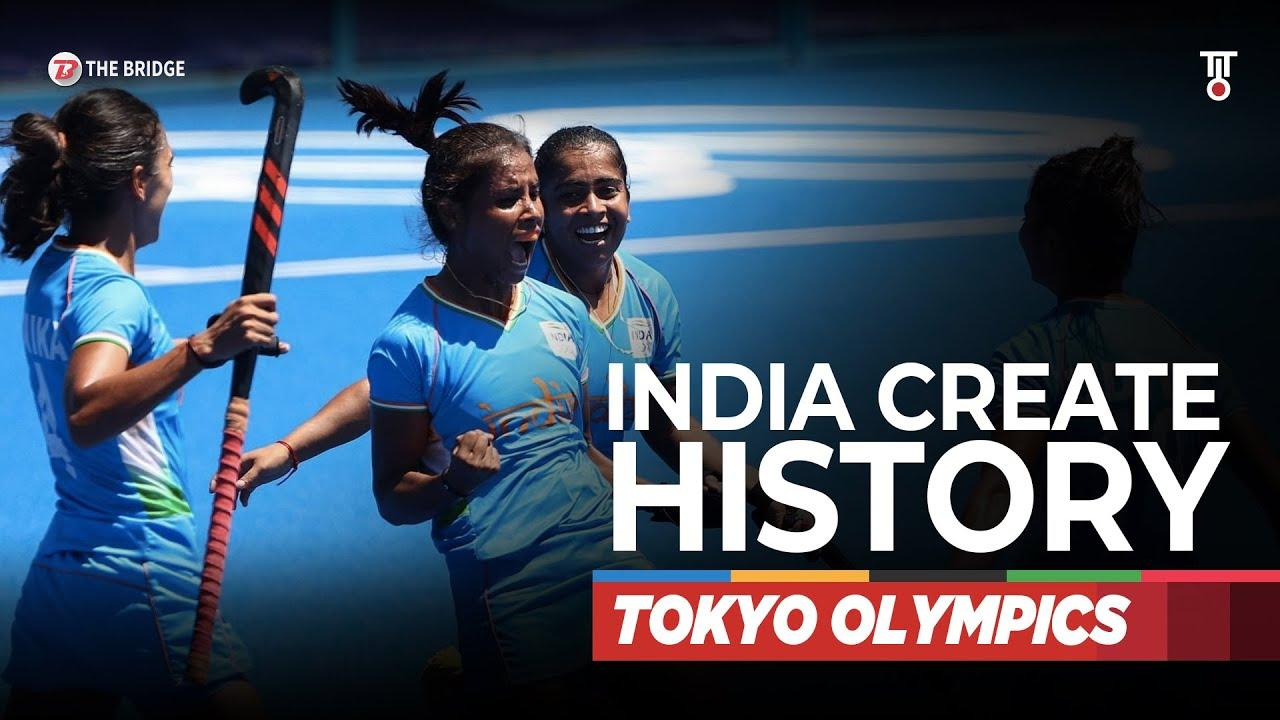 Indian women's team script history at Tokyo Olympics, finish 4th for the first time   The Bridge