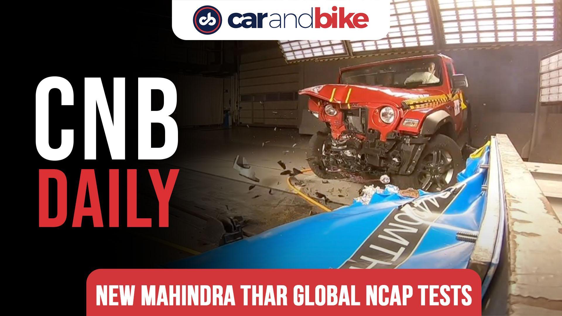 Mahindra Thar Scores 4 Stars In Global NCAP Crash Tests